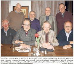 Der amtierende Vorstand von 2016